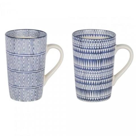 Coffret 2 mugs XL cyclades