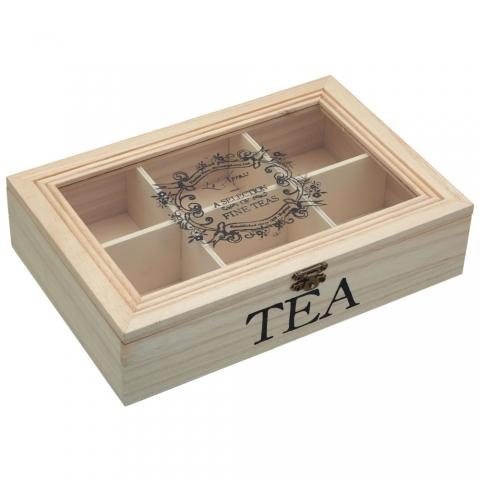 Boîte à thé Kitchencraft KCLXTEABOX
