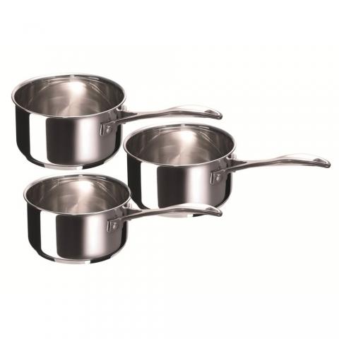 Série de 3 casseroles Chef BEKA 16/18/20cm