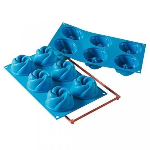 Moule Mini Roses Vertigo Silikomart