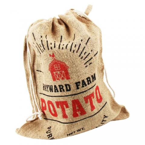 Sac à pommes de terre en toile de jute