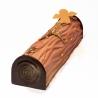 Kit bûche relief faux bois DAUDIGNAC
