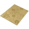 Tapis relief flocon