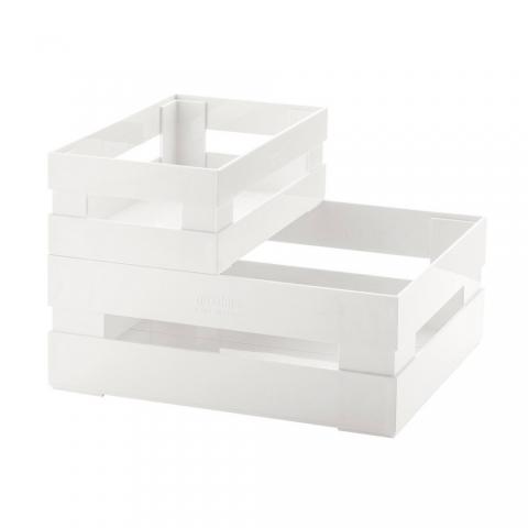 Lot de 2 Cagettes blanc GUZZINI