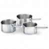 Serie 3 casseroles inox Mambo BEKA