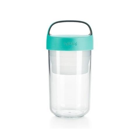 Jar to Go 600ml TURQUOISE Lékué