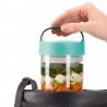 Jar to Go 400ml TURQUOISE Lékué