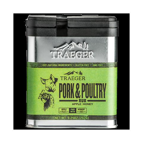Pork & Poultry Rubs TRAEGER