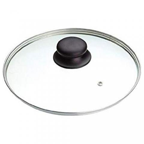 Couvercle verre sortie vapeur 28 cm IBILI