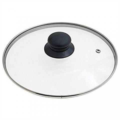 Couvercle verre sortie vapeur 30 cm IBILI
