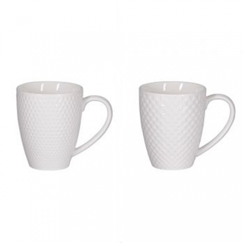 Coffret 4 mugs snow 35cl