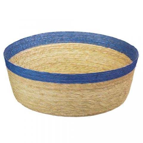 Corbeille à bord bleu 36 cm ASA