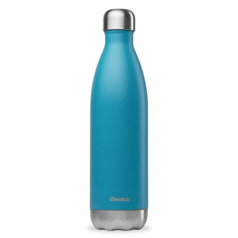 Bouteille isotherme Turquoise QWETCH 750 ML QD3039