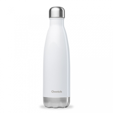 Bouteille isotherme Blanc QWETCH 500 ML QD3070