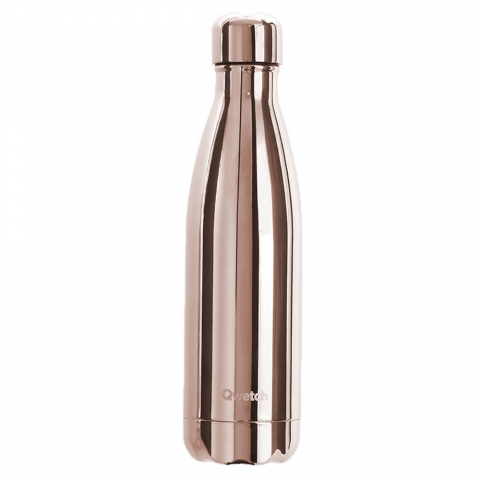 Bouteille isotherme Rose Gold QWETCH 500 ML QD3083
