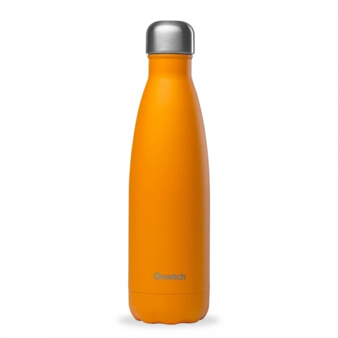 Bouteille isotherme Pop Orange QWETCH 500 ML QD3017