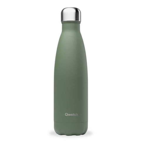 Bouteille isotherme Granite Vert QWETCH 500 ML QD3122