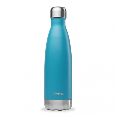 Bouteille isotherme Turquoise QWETCH 500 ML QD3027