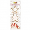 Découpoirs inox dorés Gingerman Candy Star ScrapCooking 2075