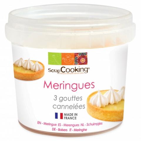 Pot Meringues 3 goûtes 40 G ScrapCooking 4584