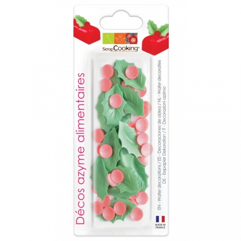 Blister azyme houx ScrapCooking 2288