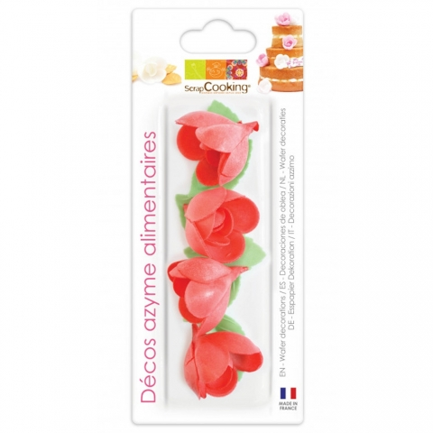 Azymes roses rouges ScrapCooking 2287