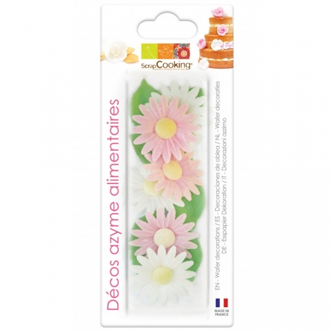 Azymes marguerites ScrapCooking 2281