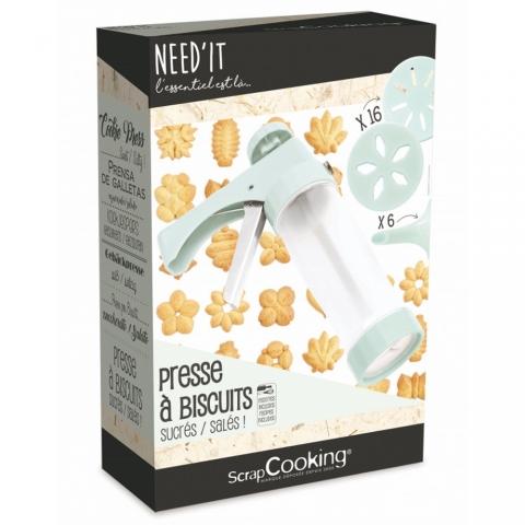 Presse à biscuits Need'It ScrapCooking 5256