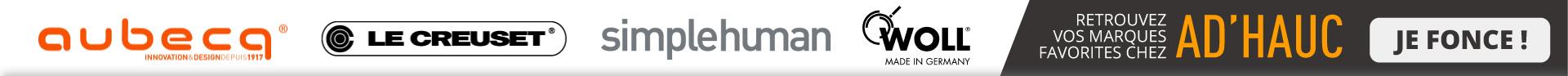 Retrouvez vos marques favorites chez AD\'HAUC !