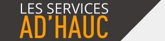 Les services AD\'HAUC